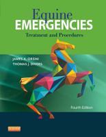 Equine Emergencies PDF