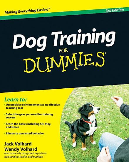 Dog Training For Dummies PDF