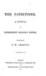 The Pathfinder A Journal Of Independent Religious Reform Book PDF