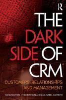 The Dark Side of CRM PDF