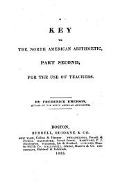 A key to the North American arithmetic: for the use of teachers