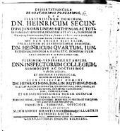 Dissertatiuncula de orationibus funebribus