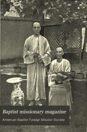 Baptist Missionary Magazine: Volume 70