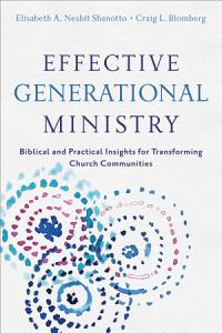 Effective Generational Ministry PDF