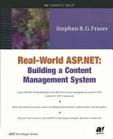Real World ASP NET PDF