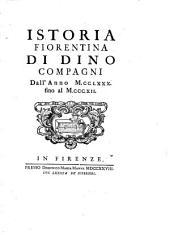 Istoria fiorentina, dall'anno 1280 fino al 1312 [ed. by D.M. Manni.].
