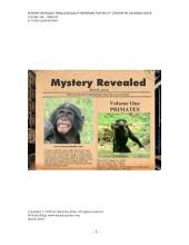 Mystery Revealed: Female Sexuality Redefined for the 21st Century, Volume One - Primates