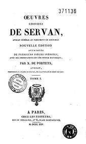 Oeuvres de Servan: nouvelle édition augmentée de plusieurs pièces inédites