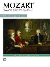 Sonatas for One Piano, Four Hands: Advanced Piano Duets (1 Piano, 4 Hands)
