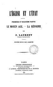 L'Église et l'État. 3 pt. [in 2. Pt.3 is of the 1st ed.].