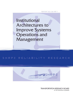 Institutional Architectures to Improve Systems Operations and Management PDF