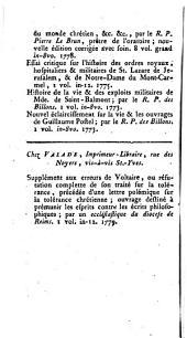 L'Esprit des journaux franc̜ais et étrangers: Volume68