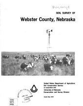 Soil survey of Webster County, Nebraska