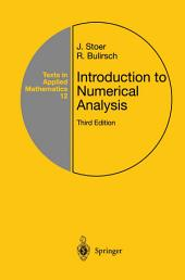 Introduction to Numerical Analysis: Edition 3
