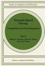Principle-Based Parsing