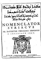 Nomenclator Syriacus