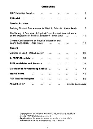 FIEP Bulletin