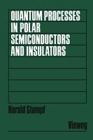 Quantum Processes in Polar Semiconductors and Insulators PDF