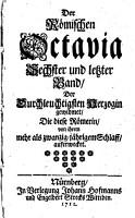 Die R  mische Octavia PDF