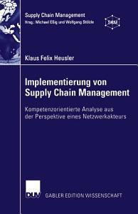 Implementierung von Supply Chain Management PDF