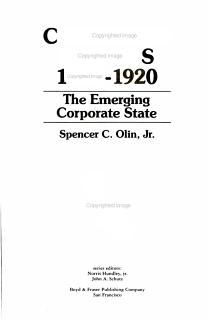 California Politics  1846 1920 Book