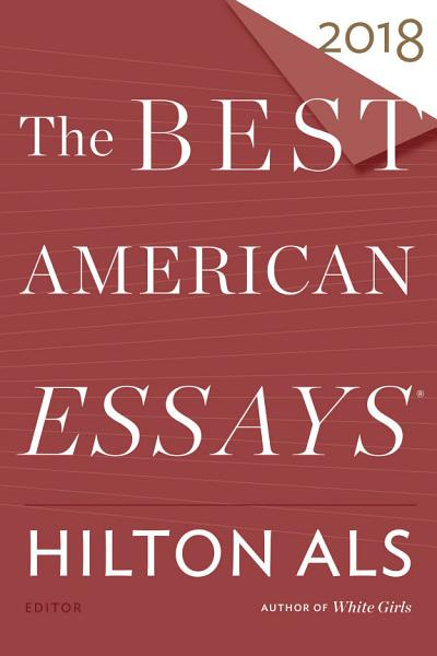 Download The Best American Essays 2018 Book