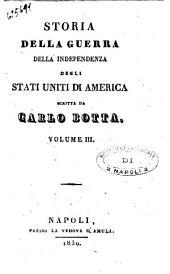 Storia Della Guerra Della Independenza Degli Stati Uniti Di America Vol.III
