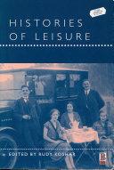 Histories of Leisure