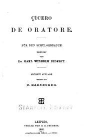 Cicero De oratore