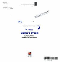 Disney s Little Einsteins  Quincy s Dream PDF