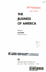 The Business of America PDF