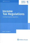 Income Tax Regulations  Summer 2019 Edition PDF