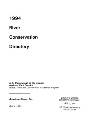 River Conservation Directory PDF