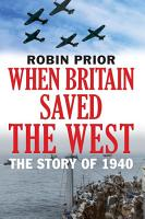 When Britain Saved the West PDF
