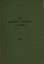 The American Academy in Rome: Issue 2