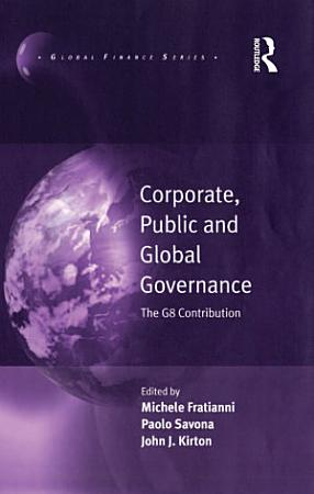 Corporate  Public and Global Governance PDF