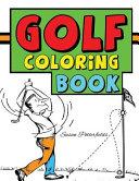 Golf Coloring Book