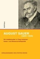 August Sauer  1855 1926  PDF