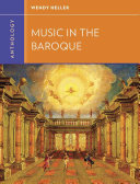 Anthology for Music in the Baroque