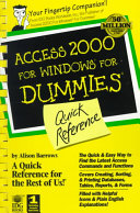 Access 2000 for Windows For Dummies Quick Reference PDF