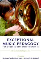 Exceptional Music Pedagogy for Children with Exceptionalities PDF