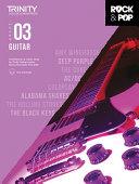 Trinity Rock   Pop 2018 Guitar Grade 3