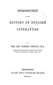 Introduction to the history of English literature