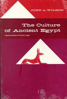 The Culture of Ancient Egypt PDF