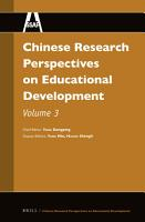 Chinese Research Perspectives on Education PDF