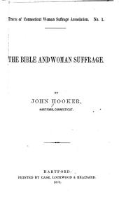 The Bible and Woman Suffrage