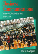Business communications   international case studies in English  Student s book PDF