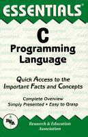 C Programming Language Essentials PDF