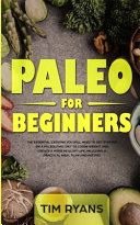 Paleo For Beginners Book