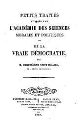 De la vraie démocratie